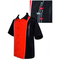 Steady Clothing - Black/Red 3 Kings Shirt
