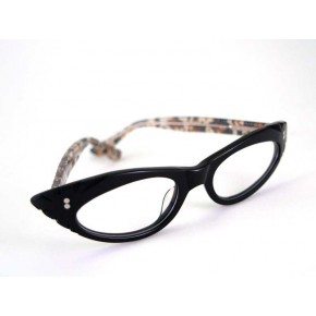 Gina -  Black/Leopard Specs