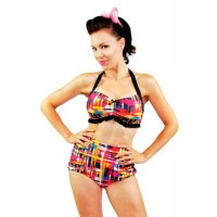 Steady Clothing - Multi Colored Bikini