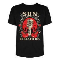 Sun Records - New Rockabilly Mic T-Shirt