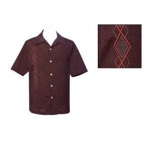 Steady Clothing - Brown Argyll Diamonds Shirt