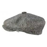 Grey Tweed - Baker Boy Cap