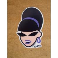 Shag - Beehive Girl Sticker