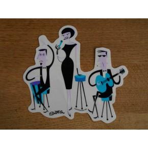 Shag - Lounge Band Sticker