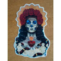 Amour - Sugar Skull Sticker