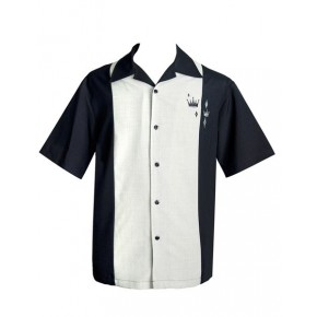Classic Steady Black Crown Panel Shirt