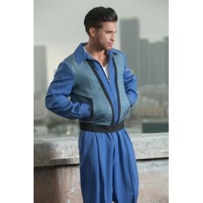 Classic Tarantula - Blue/Black Shimmer Albie Jacket