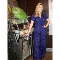 Marlena Vintage 1940s/50s Jumpsuit