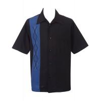 Steady - Black/Blue Kristof Shirt