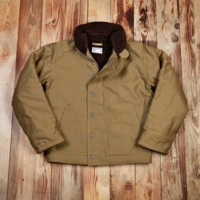 Pike Bros - N1 Deck Jacket Khaki
