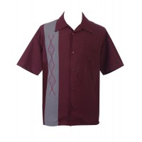 Classic Steady Clothing - Claret Kristof Shirt