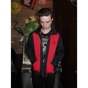 Steady Clothing - Red Panel Crown Jacket
