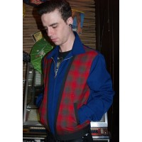 Tarantula - Blue Plaid Albie Jacket