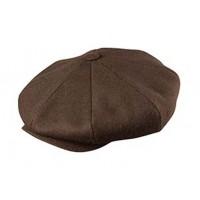 Broner - Baker Boy Cap Brown Wool