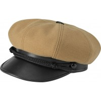 New York Hat Co - Wool Camel Brando Cap