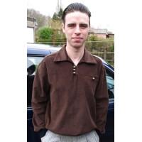 Brown Corduroy Goucho Shirt