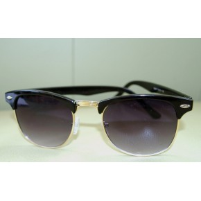 Black Clubmaster Shades