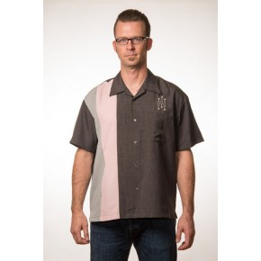 Steady Clothing - Mid Century Charcoal Shirt