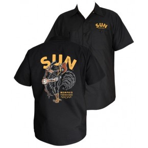 Sun Records - Singing Rooster Workshirt