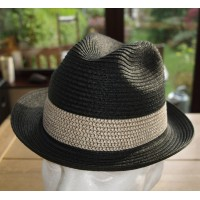 Black Braid Fedora