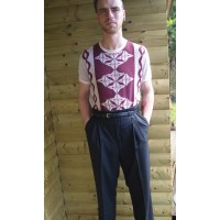 Black High Waisted Trousers