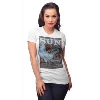 Sun Records - White Americana T- Shirt