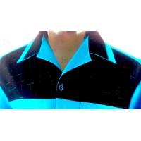 Swankys - Blue Fleck Shirt