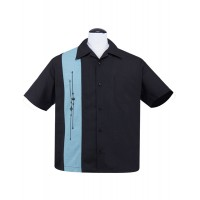 Steady Clothing - Black Classic Emblems Shirt