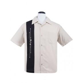 Steady Clothing - Cream Emblems Shirt