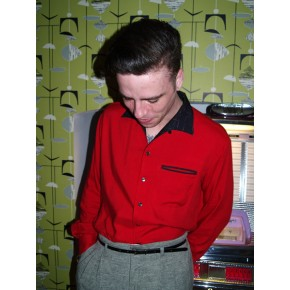 Swankys - Red Valens Shirt