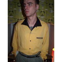 Swankys - Yellow Valens Shirt
