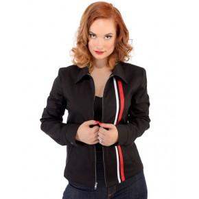 Steady - Black Girls Racer Jacket