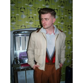 Beige/Brown Ritchie Jacket