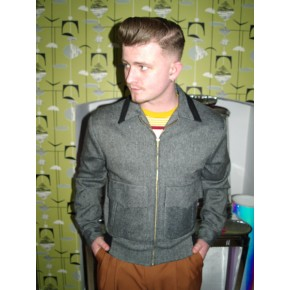 Ritchie Jacket - Grey and Black