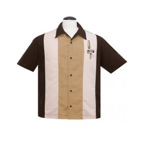 Eames Brown/Amber Bowling Shirt
