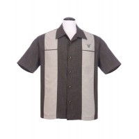 Charcoal Classy Piston Shirt