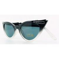 Betty - Black Fade Sunglasses