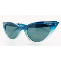 Betty - Blue Fade Sunglasses