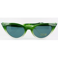 Betty - Green Fade Sunglasses