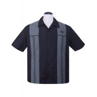 Steady - Black Snake Stitch Shirt