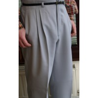 Light Grey High Waisted Trousers