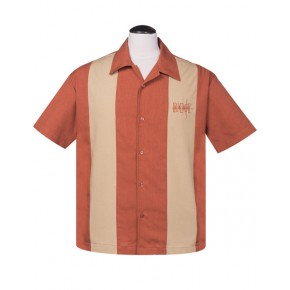 Steady - Simple Times Rust Panel Shirt