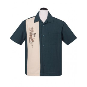 Steady - Teal Mai Tai Shirt