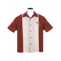 Steady - Rust Crown Panel Shirt
