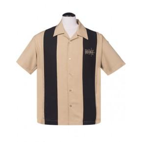 Steady - Coffee Crosshatch Shirt