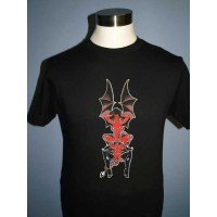 Coop - Devil Girls Batwings Tee