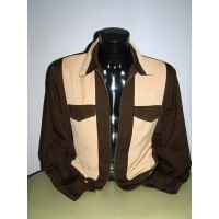 Swankys - Brown Johnny D Jacket