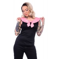 Steady - Betsy Black/Pink Top