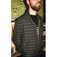 Charcoal Check Ricky Jacket