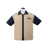 Steady - Navy Retro Rad Shirt